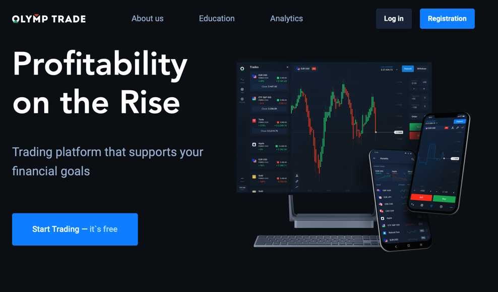 Olymptrade platform - learn how to trade for free